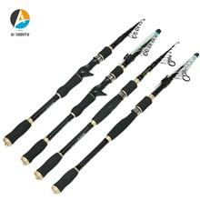 все цены на AI-SHOUYU Spinning Rods for Fishing MH 1.8m-3.6m Spinning Fishing Rod Telescopic Fishing Rod Carbon Fiber Casting Fishing Pole онлайн