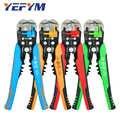 Alicates peladores de alambre multi herramientas eléctrico manual acutomático capacidad de pinza para cortar 0,2-6mm2 colección de herramientas de reparación