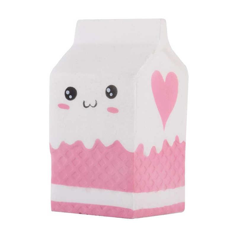 جامبو Kawaii الفشار البطاطس الباندا اسفنجي كعكة الغزلان الحليب ضغط اللعب بطيئة ارتفاع كريم المعطرة ضد الإجهاد الطفل طفل ألعاب الأطفال