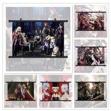 CODE veine Io Eva Roux Anime Manga HD impression affiche murale défilement