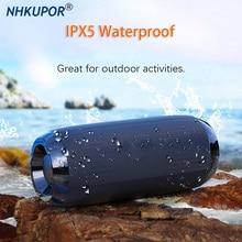Portable Bluetooth Speaker 20W Wireless Bass Column Waterproof Outdoor USB Stereo Amplifier Support AUX TF Subwoofer Loudspeaker