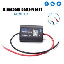 MICRO-10 C версия диагностический инструмент Bluetooth 12 в автомобильный вольтметр Мониторинг автомобильный тестер