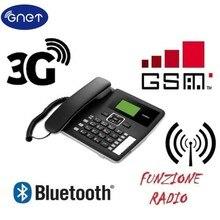 ปลดล็อกF617 50 3G WCDMA900/2100Mhz GSM Desktopโทรศัพท์บลูทูธGSM Fixed Cellular Terminal GSM Corded Desktop Off,