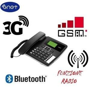 Image 1 - مقفلة F617 50 الجيل الثالث 3G WCDMA900/2100Mhz GSM سطح المكتب بلوتوث الهاتف GSM محطة الخلوية الثابتة GSM حبالي سطح المكتب قبالة ،
