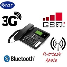Unlocked F617 50 3G WCDMA900/2100Mhz GSM Desktop Bluetooth Telephone GSM Fixed Cellular Terminal GSM Corded Desktop Off,