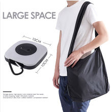 New Design Portable Storage Bag Reusable Crossbody Shopping Bag Folding For Women Shoulder Bag Large Capacity With Case and Hook