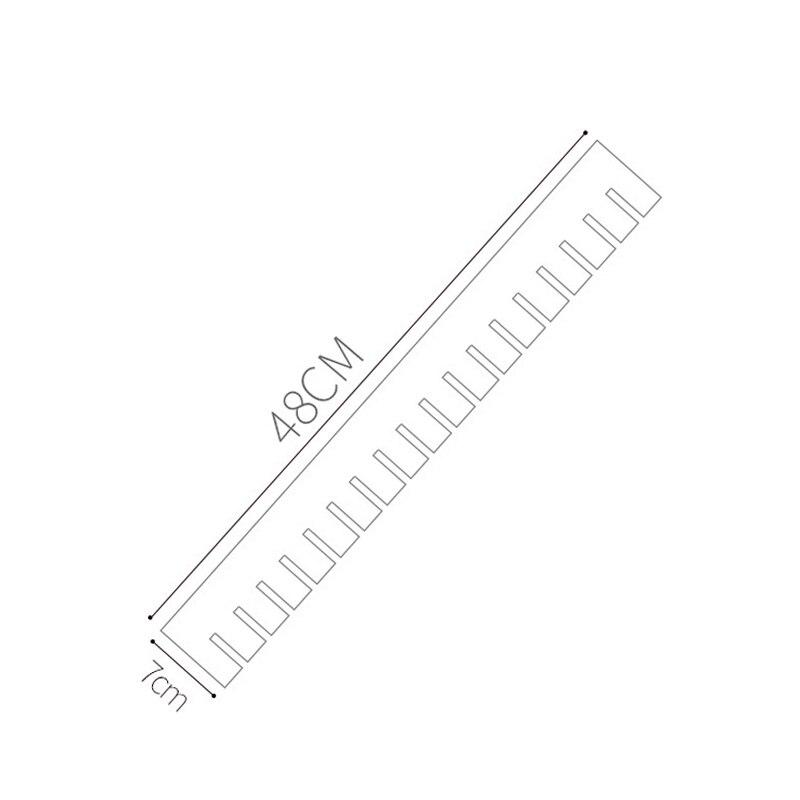 Adjustable Clapboard Drawer Divider Partition Storage Wardrobe Storage Organizer OCT998