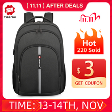 2020 Tigernu Neue Große Kapazität 15,6 zoll Anti Diebstahl Laptop Rucksack Taschen Wasserdicht Männer Rucksack Reise Männlichen Tasche Für teenager