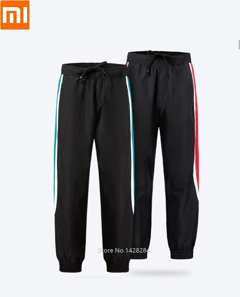 Xiaomi New ULEEMARK Men Sports Casual Trousers Trend Comfortable Sports Pants Windproof Warm Autumn And Winter Men's Trousers
