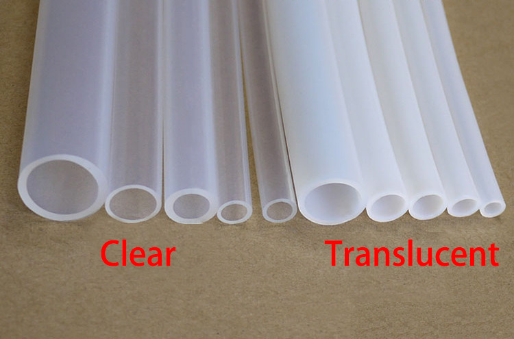 Transparent 25/' Length Fluorotherm Polymers 8mm ID x 10mm OD Fluorostore F018114-25 Metric FEP Tubing 25 Length