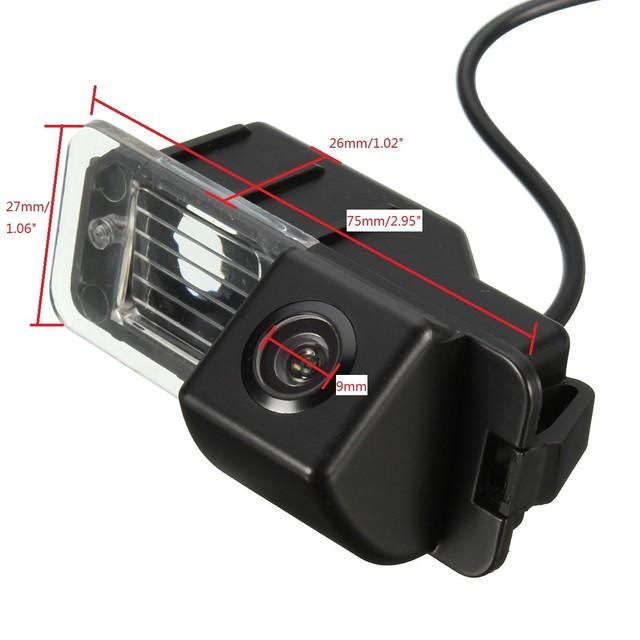 CCD HD Auto Car Rear View Camera Reverse Parking Night Vision Waterproof  for VW Golf MK 6 MK 7 Polo V (6R)  Golf 6 VI  Passat