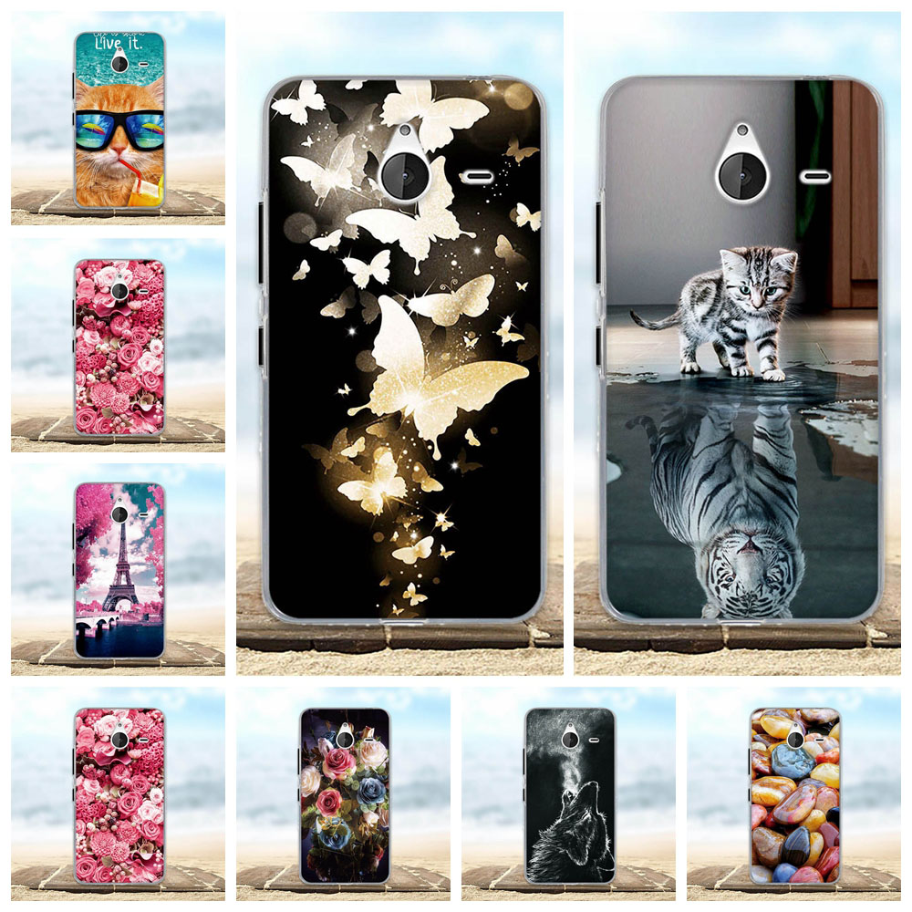For Nokia Microsoft Lumia 640 XL Case Soft Silicon Ultra Thin Cover 3D Pattern Capa For Microsoft Lumia 640 XL 640xl Phone Cases image