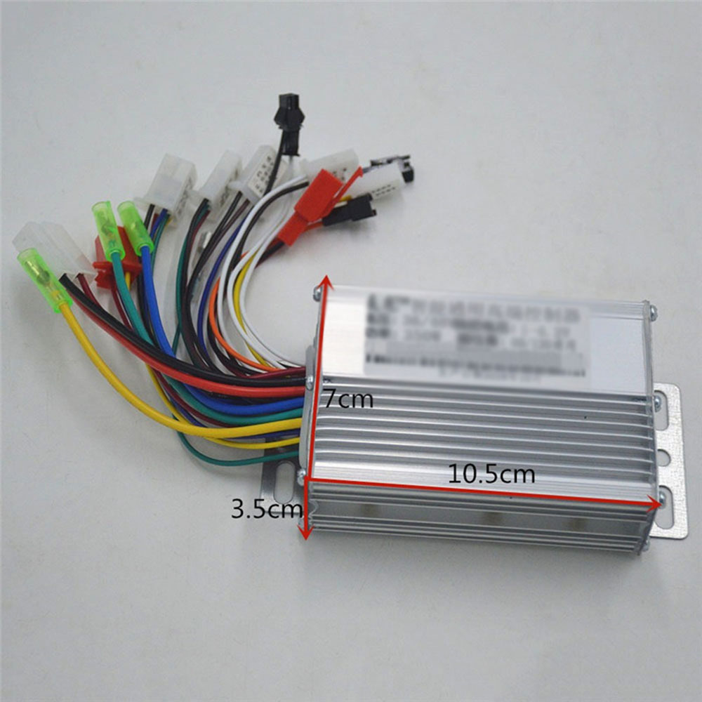 36V 48V 350W Electric Bicycle Controller Sine wave Brushless Aluminum Scooter Motor Speed Controller