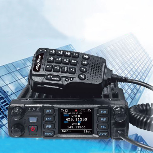 Anytone AT-D578UVIIIPRO DMR and Analog Radio Station 50W VHF UHF GPS APRS Bluetooth Walkie Talkie DMR Car Radio Communicator 1