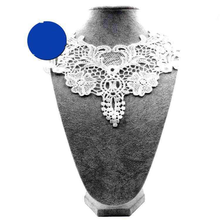 Embroidery  Neck Collar Diy  Fake Detachable Collars Water-soluble Women Corsage Three-dimensional Lace Accessories