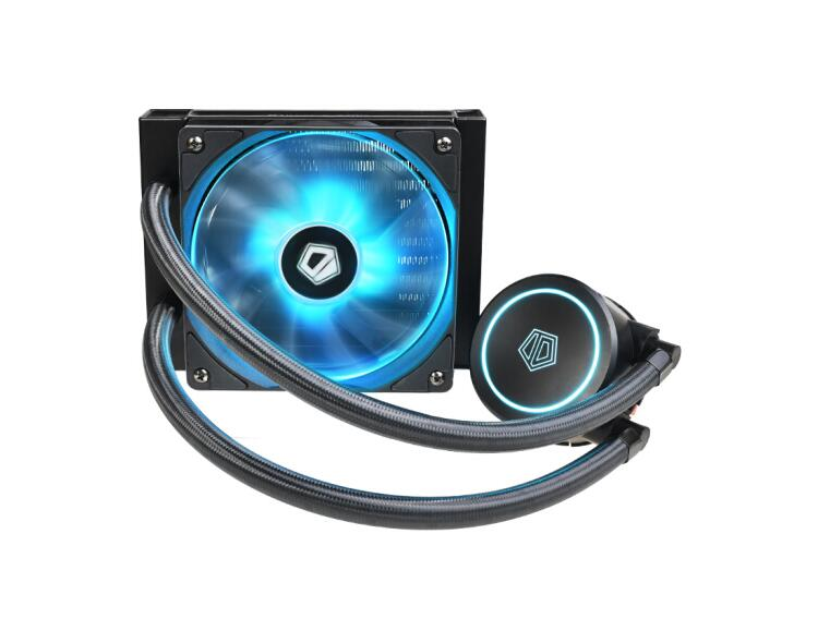 ID-COOLING AURAFLOW X 120 RGB light effect integrated water-cooled CPU heatsink  12V synchronous multi-platform buckle