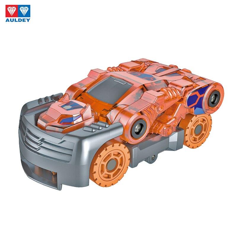 Image 3 - AULDEY Screeches Wild Burst Deformation Car Action Figures DPTI Morphs Capture Wafer 360 Degree Transformation Car ToysAction & Toy Figures   -