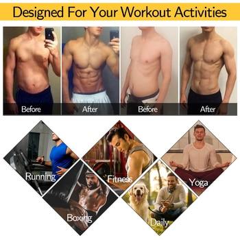 Men Body Shaper Waist Trainer Sauna Suit Sweat Vest Slimming Underwear Weight Loss Shirt Fat Burner Workout Tank Tops Shapewear 6