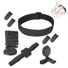 Kit de montaje de cabeza de casco para Sony Action FDR X3000 HDR AS30V HDR AS20 AS30V AS300 AS200V AS100V as HDR AS100V