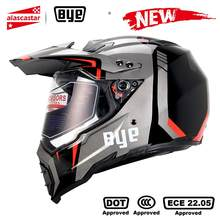 BYE moto rcycle casque moto cross casque casco moto rbike course moto casque motard casques intégraux ECE DOT Certification(China)