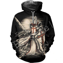 Tessffel Knight Templar cavalie 3D full Printed Hoodie/Sweatshirt/Jacket/shirts Men Women HIP HOP fit colorful Harajuku style-4