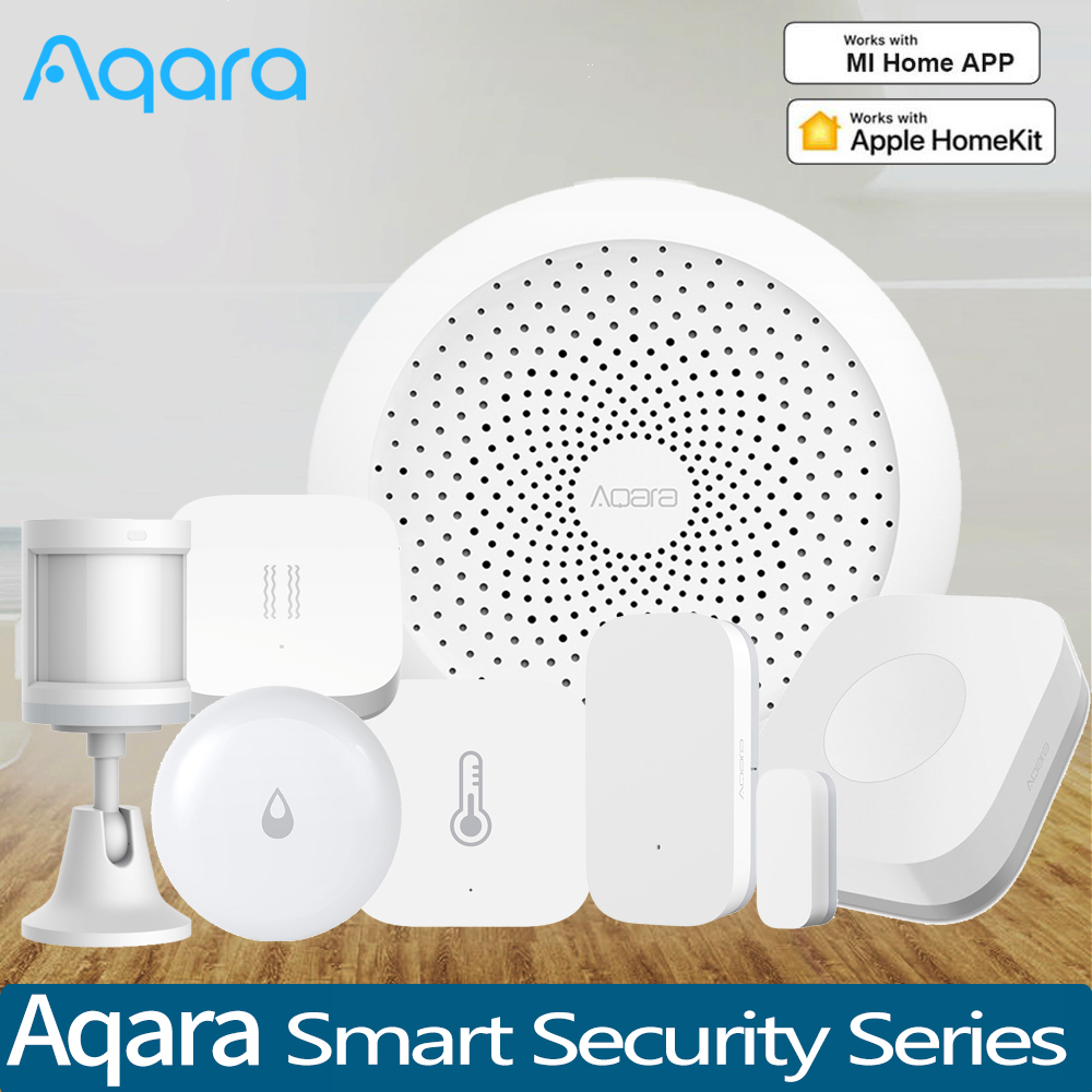 Aqara Hub Gateway 3 wireless Switch Water Leak sensor Temperature Humidity Sensor For Homekit Xiaomi Mihome Smart Home Kits