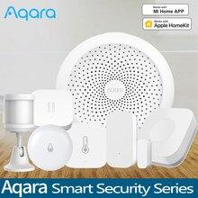Aqara hub gateway 3 interruptor sem fio sensor de vazamento água temperatura e umidade para homekit xiaomi mihome casa inteligente kits