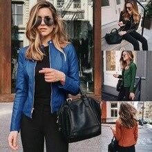 Jacket Coat Female Winter Women Short Long-Sleeve Autumn Plus-Size Casual Streetwear
