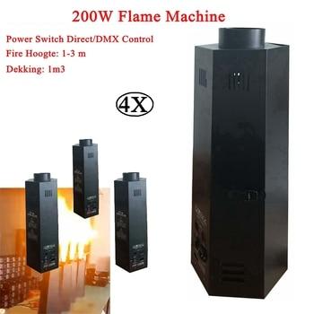 цена на 4Pcs/Lot Stage DJ Equipment Fire Machine DMX512 Sound Flame Projector Disco Party Wedding Effect Lighting With DMX Swutch Contro