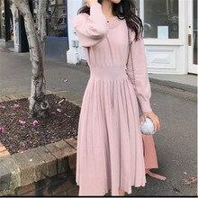 Korrean Sweater Dress Fashion Women Knitted Dresses