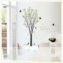 Bird and tree wall…