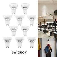 1/4/10 stücke led-lampe cool white 5W LED Gu10 birne hohe-qualität 50W halogen GU10 birne energie saving einfach zu installieren Glühbirne