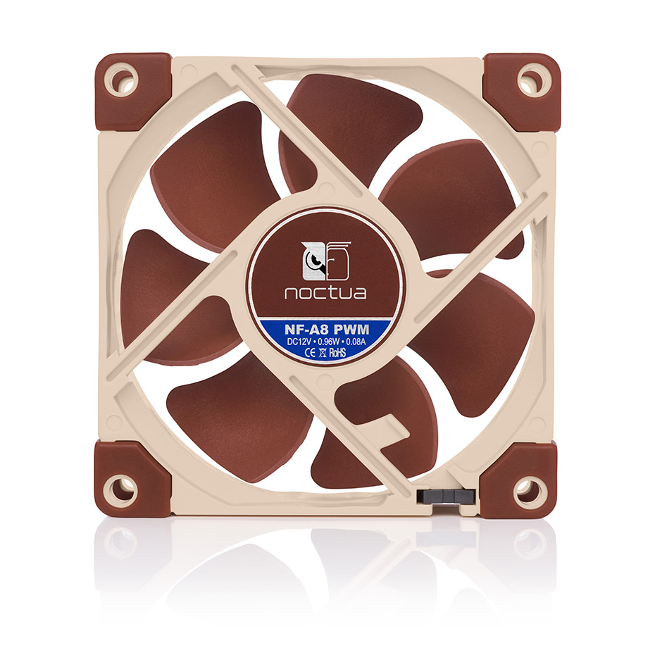 Noctua NF-A8 <font><b>80mm</b></font> <font><b>12v</b></font>/5v Computer Cooling <font><b>fan</b></font> 3pin/4pin PWM quiet Radiator <font><b>fans</b></font> For <font><b>PC</b></font> Case Cooling CPU cooler <font><b>fan</b></font> Replace image