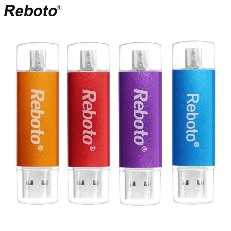 Многоцветная OTG usb 2,0 USB флеш-накопитель, 16 ГБ 32 ГБ 64 Гб usb память u диск micro usb флэш-накопитель для Мобильный телефон