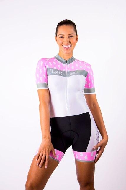 2020 pro kafitt triathlon terno feminino preto camisa de ciclismo skinsuit maillot ciclismo ropa conjunto manga longa 9d 4