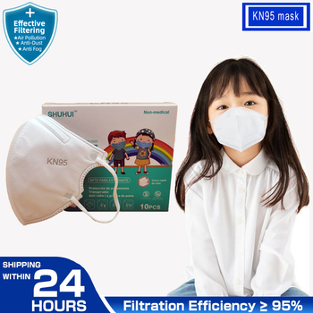 FFP2 KN95 Kids Masque thicker 5 layer Children Mask Anti-fog Strong Mouth Respirator Mascarillas Student - discount item  41% OFF Workplace Safety Supplies