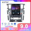 PX6 Android 9 Tesla stil Auto DVD Player GPS navigation für Nissan Patrol 2010 Auto Auto Radio Stereo-Multimedia-Player kopf Einheit