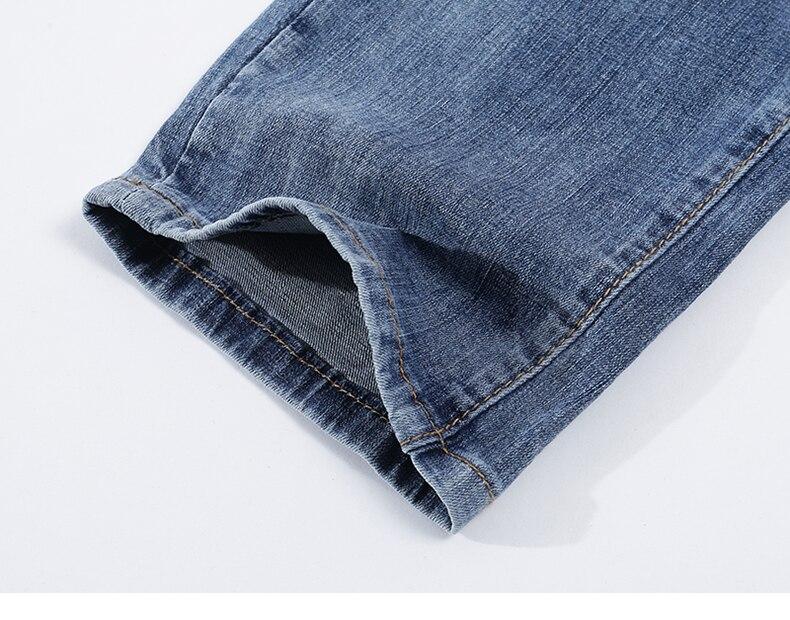 KSTUN Fashion Biker Jeans Men New Design Ultrathin destroyed Man Rip Jean Slim Fit Hiphop Stretch Blue Casual Denim Pants High Quality 19