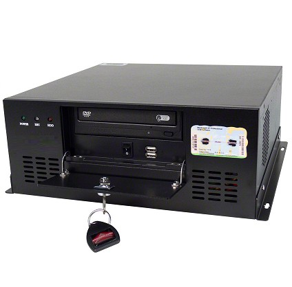 Desktop/Wall-Mount Industrial Chassis, Support Micro_ATX Motherboard, 4 X PCI Expansion Slots, OEM/ODM