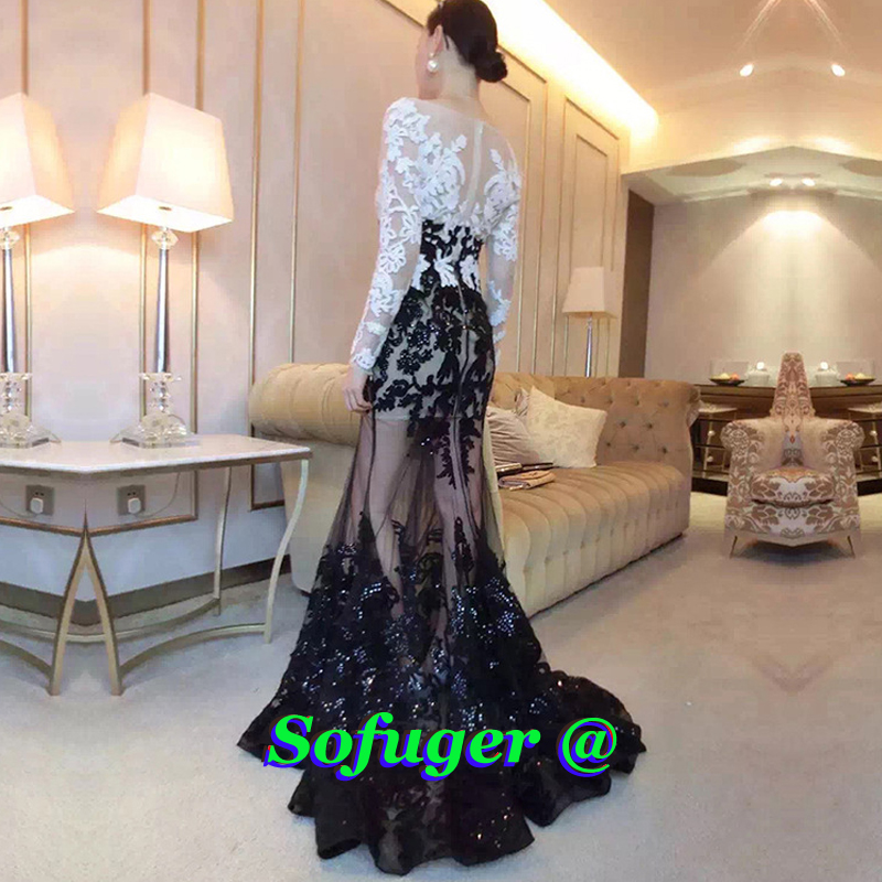 16 Sexy Black Mermaid Evening Dresses Pleat Special Occasion Formal Prom Robes de Soirée Wedding Party