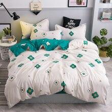 Bedding set soft comfortable bed linens 3/4pcs duvet cover set pastoral bed sheet duvet cover super king queen full twin size цена