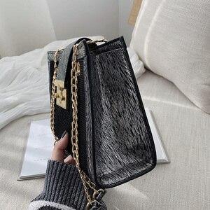 Image 4 - Petite chaîne simple grande capacité sac fourre tout 2019 nouvelle version coréenne de la mode épaule sauvage en bandoulière
