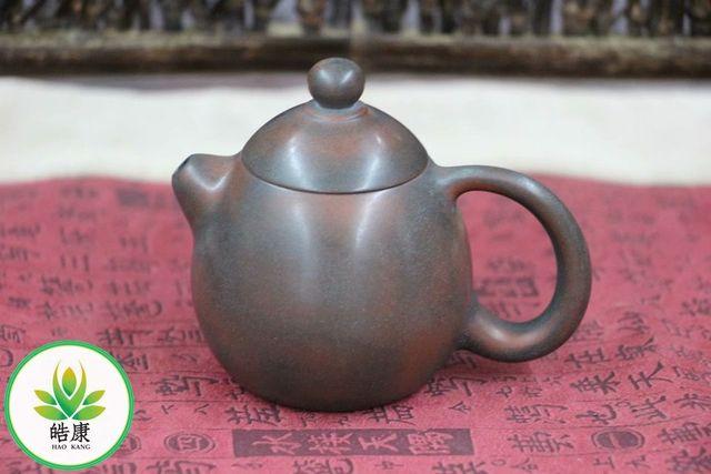 Çin qinzhoudan seramik Qin zhou demlik (yixing kil demlik) için puer siyah çay * ejderha yumurta * yaklaşık 100ml