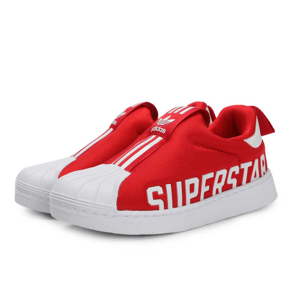 אדידס סופרסטאר 360 מקורי ילדים נעלי ניו הגעה ילדי לנשימה ריצה נעלי ספורט קל משקל # EG3407
