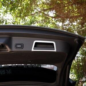 Image 5 - 자동차 뒷 트렁크 테일 도어 핸들 프레임 커버 트림 실버 ABS 크롬 랜드 로버 레인지 로버 Evoque (L551) 2020 자동차 액세서리