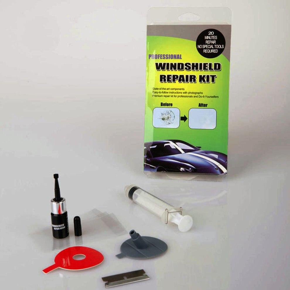 Glass Repair Agent Car Windshield Repair Kit Tool Headlight Crack Repair Fluid