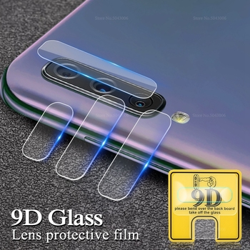 9D Camera Lens Film For Samsung Galaxy A50 A40 A40S A60 A70 A80 A90 M10 M20 M30 Camera Screen Protector Soft Tempered Glass image