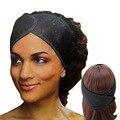 Повязка на голову женская многофункциональная, регулируемый обруч с сеткой из пены, на липучке, инструмент для ухода за волосами, аксессуар...