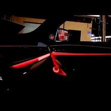 Car tweeter cover for BMW G30 front rear door speaker center control mid speaker side door loudspeaker light glow lamp cover car midrange speaker cover trim for bmw 5gt f07 528 535 auto front rear door mid range loudspeaker covers audio tweeter case