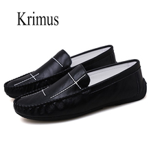 цены Mens Shoes Casual Men Loafers Genuine Leather Moccasins Light tenis Breathable Slip on Boat Shoes zapatillas deportivas hombre
